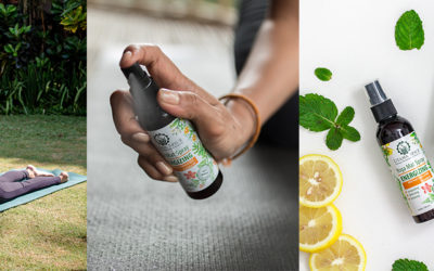 Keeping Your Yoga Mat Clean Naturally