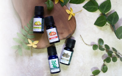 Creating your own blends using essential oils.